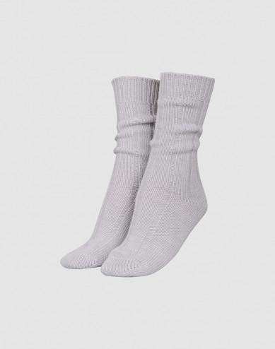 Women's wool socks- Light grey