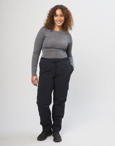 Women's softshell trousers - Black