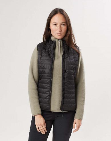 Women's recyled polyester vest
