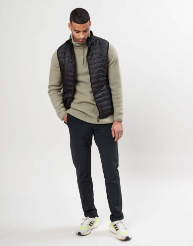 Men's recycled polyester vest