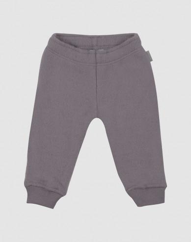 Baby merino wool fleece trousers