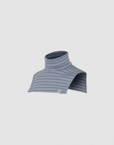 Baby neck warmer- Blue Stripe