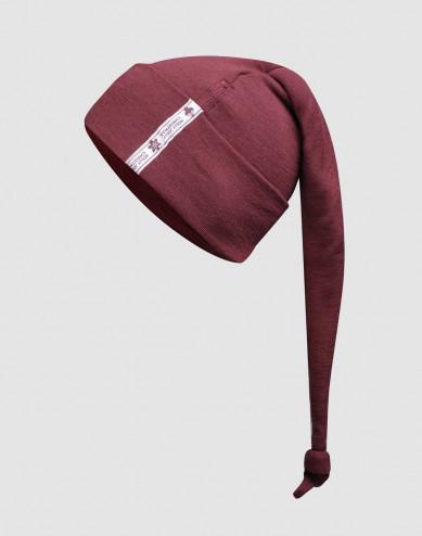 Baby, organic merino wool santa hat- Christmas red