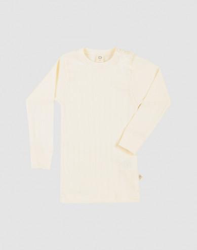 Baby organic cotton long sleeve top