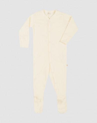 Baby organic cotton sleepsuit