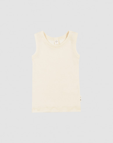 Baby merino wool/silk tank top