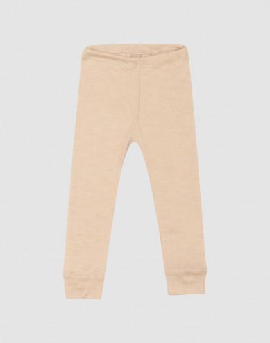 Baby merino wool/silk leggings