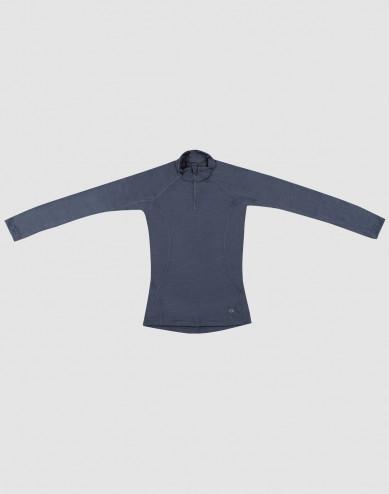 Children's exclusive natural merino wool jumper- Blue Grey