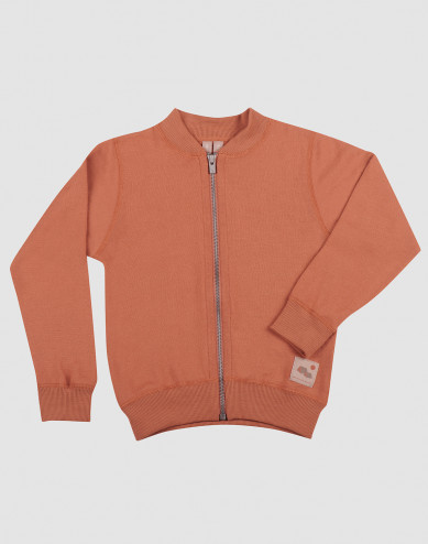 Children's wool terry jacket