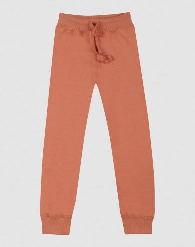 Children's wool terry trousers