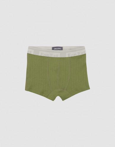 Children's merino wool boxer shorts