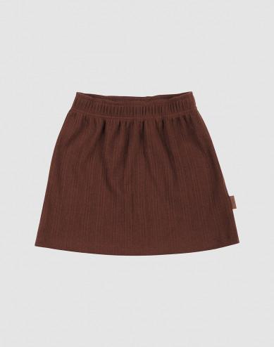 Children's merino wool skirt