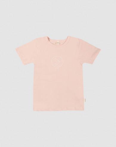 Kids' printed t-shirt- rose
