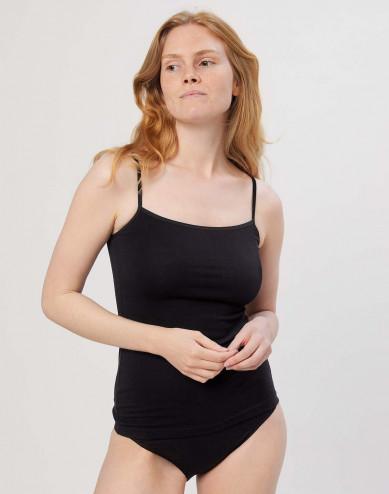 Women's cotton top- black