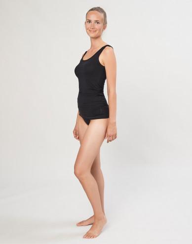 DILLING women's cotton bikini briefs- black