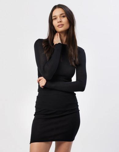 Women's tube skirt- Black