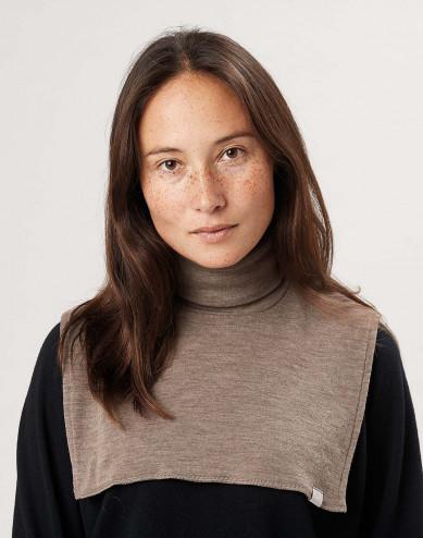 Women's merino wool neck warmer