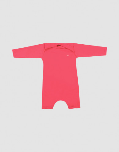 Baby sun protection swimsuit- pink