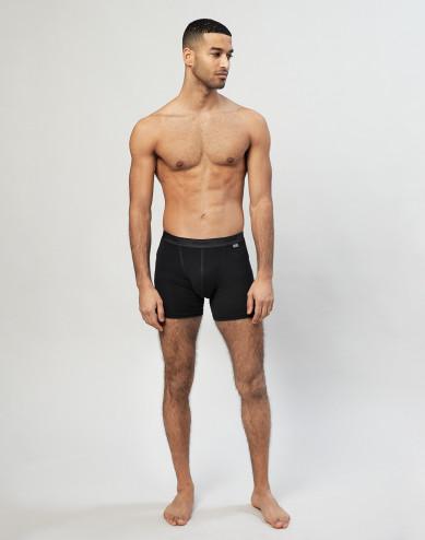 Men's merino wool boxer shorts- black