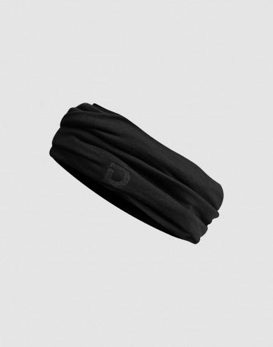Women's exclusive merino wool neck warmer- black
