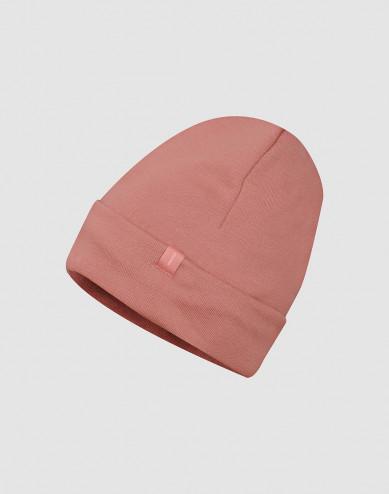 Wool terry hat- Dark Pink