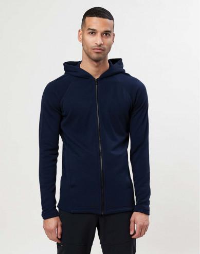 Men's wool terry hoodie