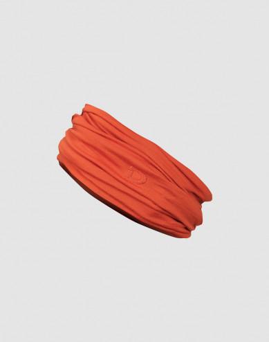 Women's exclusive merino wool tube scarf- Orange